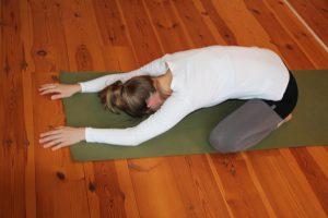 Yin Yoga Child Pose Wolfgang Riedl