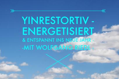 Yinrestorativ- energetisiert & entspannt ins neue Jahr 2016