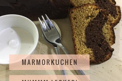 Marmorkuchen aus Buchweizen – auch als Vegane Variante möglich –
