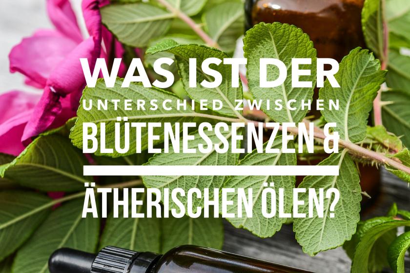 Was ist der Unterschied zwischen ätherischen Ölen und Blütenessenzen