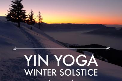 Yin Yoga Sequenz Winter Solstice – die Wiedergeburt der Sonne