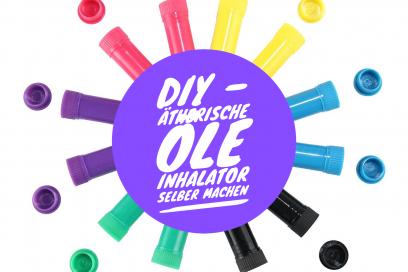 DIY – ätherische Öle Inhalator selber machen
