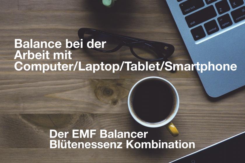 Balance bei der Arbeit mit Computer/Laptop/Tablet/Smartphone – der EMF Balancer