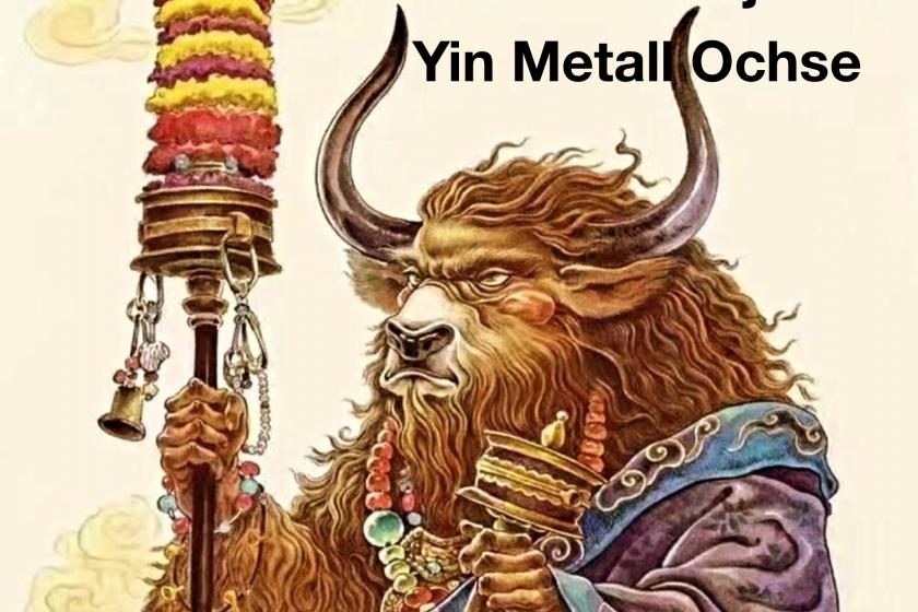 Happ New Year – Das Jahr des Yin Metall Ochsen